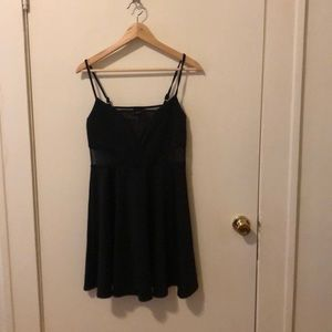 Skater Dress with Cut Outs